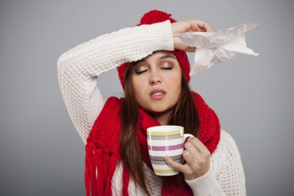 Winter season for cold and flu